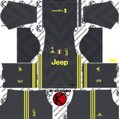 fe675c8d7e4 Juventus kits for Dream League Soccer and the package includes complete with  home kits