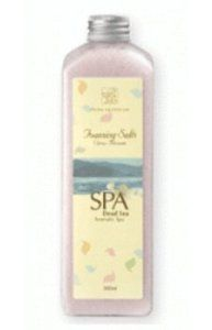 Dead Sea Citrus Blossom Foaming Bath Salts 16.91 oz by Dead Sea Citrus Blossom. $14.99. Great as a gift!. Enriched with Dead Sea Minerals. Scented for the ultimate bath experience. Extra-concentrated salt, cut extra-fine - get more for less!. Use in bath for a rich lather. Add these foaming salts to a bath to create your richest lathering experience yet.  Directions: Fill bath with warm water. Add two full tablespoons of salt and enjoy the rich experience...  Ma...