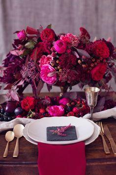 Prepara un San Valentín con el color del año: Marsala
