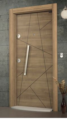 Top 50 modern wooden door design ideas you want to choose for your home - E ., Top 50 modern wooden door design ideas you want to choose for your home - technical discoveries. Flush Door Design, Main Door Design, Wooden Door Design, Front Door Design, Modern Entrance Door, Modern Wooden Doors, Entrance Doors, Bedroom Door Design, Door Design Interior