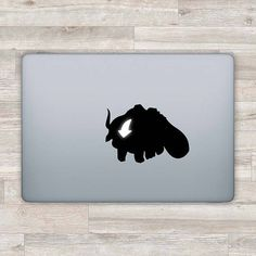 Avatar MacBook Decal Appa MacBook Sticker Apple Logo Aang