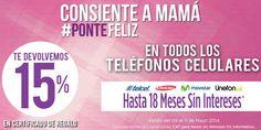 Suburbia: 15% en certificados de regalo y 18 MSI en Celulares Suburbia cuenta con una muy buena oferta y promoción para festejat en grande estedía de las madres, pues te devuelven 15% en certificados de regalo además de que tienen hasta 18 meses sin intereses al comprar un celular. Esta oferta y... -> http://www.cuponofertas.com.mx/oferta/suburbia-15-en-certificados-de-regalo-y-18-msi-en-celulares/