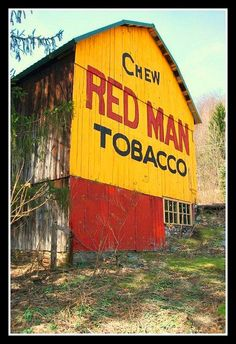 Chew Red Man Tobacco - Lycoming County, Pa.