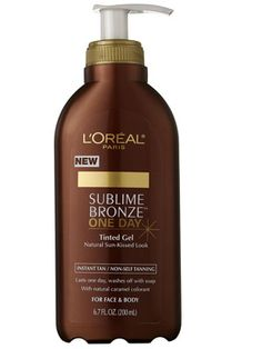 L'Oréal Paris Sublime Bronze One Day Tinted Gel