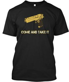 Cool golden gun t-shirt!  #usa #america #freedom #health #tshirts #design #illustration #art #digital #cool #clothes #freedom #guns #second-amendment #alexjones #government #law #life gold #money #aliens #conspiracy #life #death
