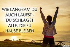 Muntermacher für Läufer - Die besten Motivationssprüche
