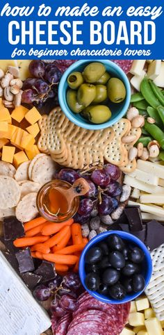 Charcuterie Recipes, Charcuterie And Cheese Board, Cheese Boards, What Is Charcuterie, Cheese Recipes, Appetizer Recipes, Appetizers, Clean Eating Snacks, Healthy Snacks