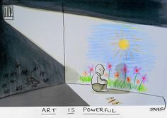 Loui Jover art is powerful