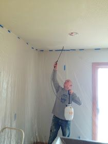 One Project at a Time - DIY Blog: Return of the Popcorn Ceilings
