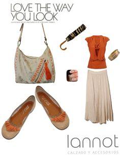 Chatitas con aplique y cartera con correa ajustable, detalles en tiento y flecos.