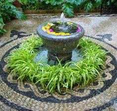 Patios 2012 - Green fountain