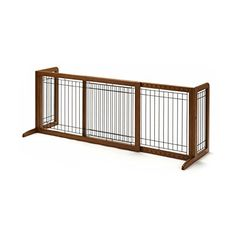Richell 94135 Freestanding Pet Gate with Autumn Matte Finish, Small *** Continue to the product at the image link.