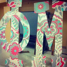 Phi Mu letters
