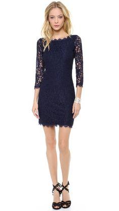 87a7dc854950bf Diane von Furstenberg Zarita Lace Dress Tall Girl Fashion