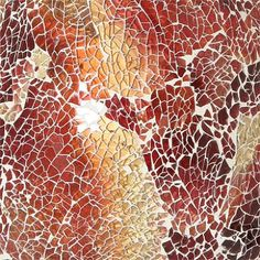 red mosaic Mosaic Projects, Mosaic Ideas, Art Tiles, Mosaic Art, Give It To Me, How To Make, Textures Patterns, Artsy Fartsy, Project Ideas