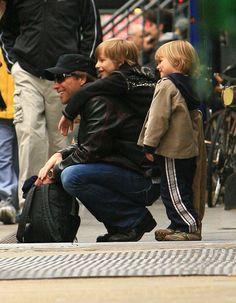 Jon Bon Jovi's boys Jacob and Romeo hung out with, and on top