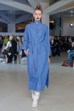 IMRECZEOVA FW17 runway Runway, Shirt Dress, Prague, Shirts, Dresses, Fashion, Cat Walk, Shirtdress, Gowns