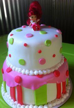 Strawberry Shortcake birthday cake!