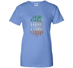 Irish American Flag - Ireland Saint Patrick's Day T-Shirt