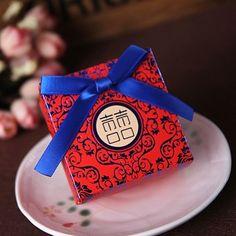 中式婚庆用品繁锦成品中国风创意个性结婚喜糖盒子婚礼装糖果纸盒