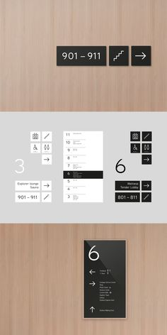 building brand identity for numbers, floors and commodities Floor Signage, Hotel Signage, Office Signage, Environmental Graphic Design, Environmental Graphics, Bathroom Signage, Ecole Design, Navigation Design, Wayfinding Signs