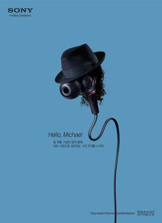 Sony Earphone: Michael Jackson