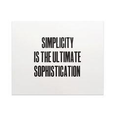 SimplicityレタープレスアートポスターTheLepolasイギリス
