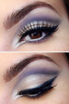 Frosty & Wind-Swept - check the technique and shape over the lids, immaculate liner!
