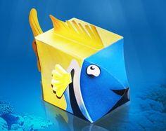 Caixa Peixinho Personalizada Para Doces