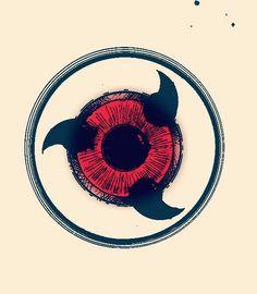 sharingan eye tattoo naruto kakashi Ideas and Images Naruto Uzumaki, Anime Naruto, Anime Chibi, Naruto Eyes, Madara Uchiha, Naruto Art, Manga Anime, Naruto Tattoo, Naruto Drawings