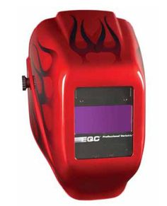 Jackson Welding Helmet - I2 Red Flame Pro Variable Lens 20498