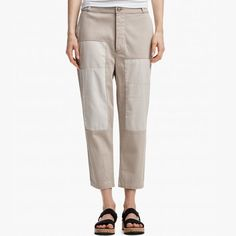 Yes! Pants, please.  [James Perse] PATCHED VINTAGE WORK PANT