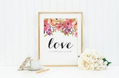 Love Is All You Need Digital Print