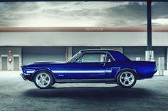 California Special in Metallic Cobalt Blue