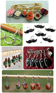 Gifts for knitters stitch markers and more
