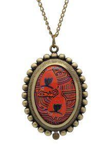 Timermall Bronze Necklace Vintage Quartz Pocket Watches TimerMall. $13.00