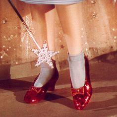 shouldn't every princess have a lovely pair of scarlet red slippers?...