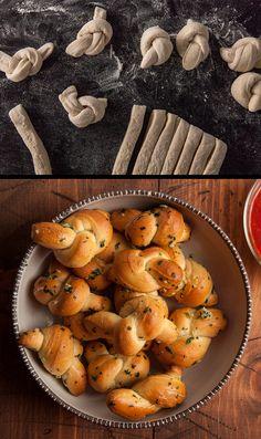 Delicious dough knots made easy.