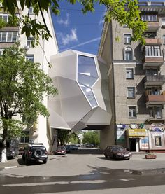 Parasite office, Moscow, 2011 by Za Bor Architects