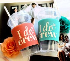 Mimosa's Anyone? Bachelorette Party, Cups, I Do Crew, party to go cups. Tip or sip.