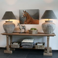 Mirror instead of horse Diy Interior, Interior Decorating, Swedish Interior Design, Muebles Living, White Rooms, Cheap Home Decor, Decoration, Home And Living, Diy Furniture