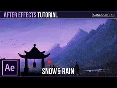 (25) After Effects Tutorial: Create SNOW and RAIN with Particles - YouTube