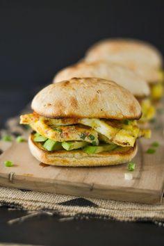"Frittata ""Brinner"" Sandwiches - Southwest Style"