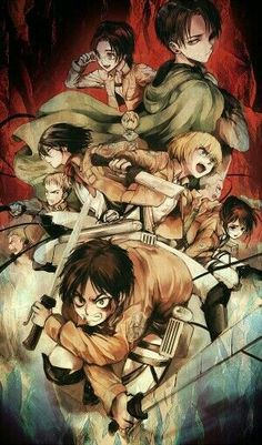 ○○○  Attack on Titan characters; Attack on Titan