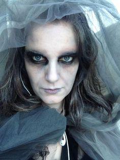 ghost makeup … | Horror Makeup | Pinterest | Ghost makeup, Makeup ...
