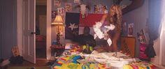 Sydney Maler and bed full of money