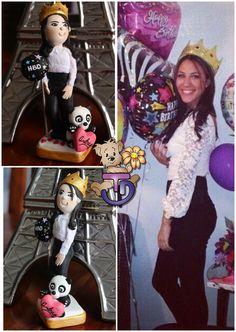 Feliz cumpleaños con un regalo #unico  #porcelanafría #craft #craft #panamá #507