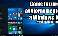 Trucco | Come Forzare L'Aggiornamento Per Ricevere Windows 10 Se siete impazienti di avere l'aggiornamento a windows 10 , e non volete aspettare la notifica ufficiale dell'upgrade da microsoft , è possibile forzare l'aggiornamento con un piccolo trucchetto. A d #windows #aggiornamento #upgrade