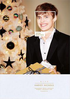 Harvey Nichols Gift Face print ad