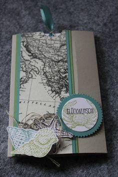 Stampin Up! Geburtstag, By the Seashore, Spruch-reif, Designerpapier Erstausgabe, Happy Birthday, Männerkarte, Ziehkarte